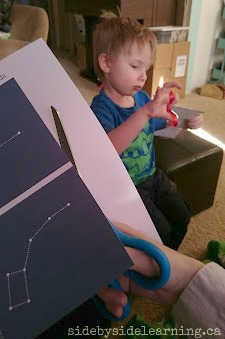 Constellation Cutting Fine Motor