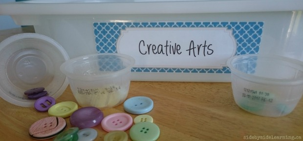 Creative Arts - Buttons Sorting