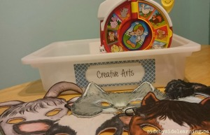 Creative Arts - Farm Masks and Sounds