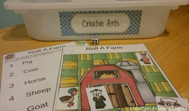 Creative Arts - Roll a Farm