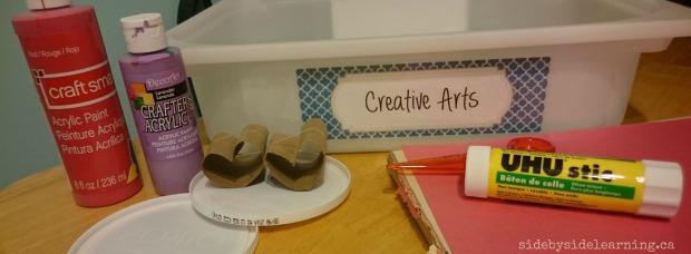 Creative Arts - Valentines Painting