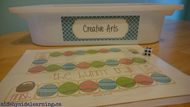 Creative Arts Easter Game Tot School