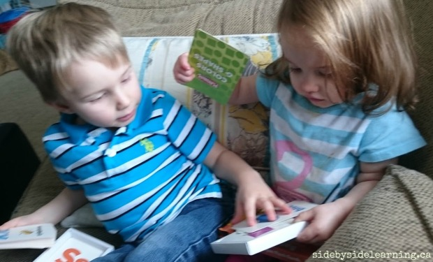 Flashcard Siblings