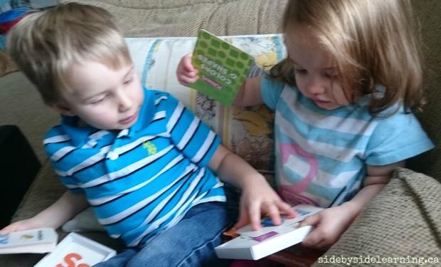 Flashcard Siblings