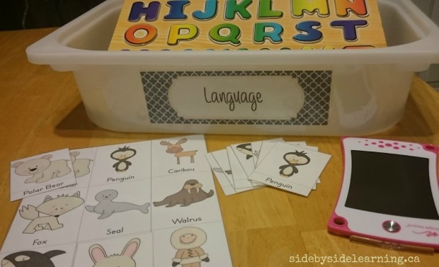 Language - Animals and Letters