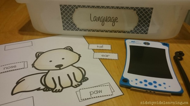 Language - Arctic Fox Labeling