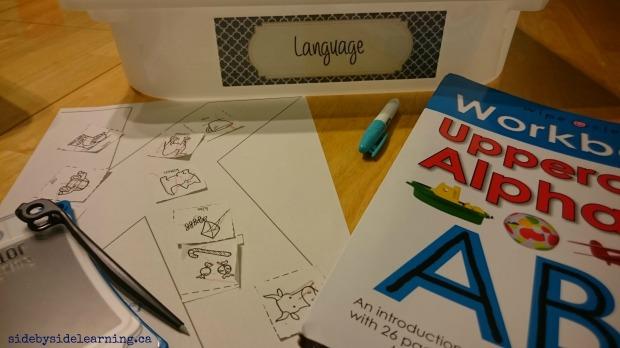 Language - K Fine Motor Writing
