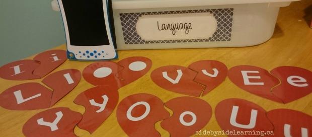 Language - Valentines Letters
