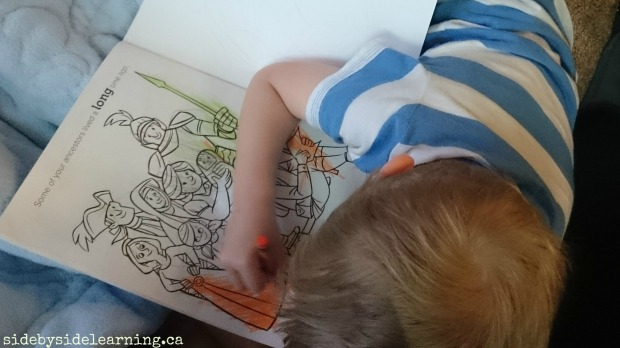 LDS Coloring Book