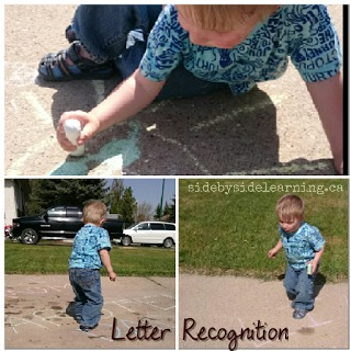 Letter Recognition Chalk
