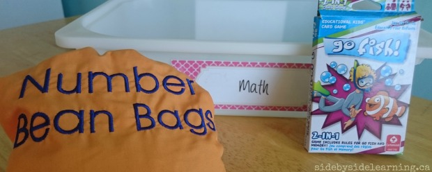 Math - Bean Bags, Go Fish