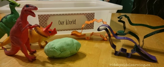 Our World - Dinosaur Playdough