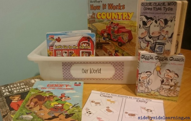 Our World - Farm Reading and Sorting