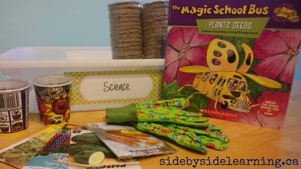 Science Seeds Tot School Spring