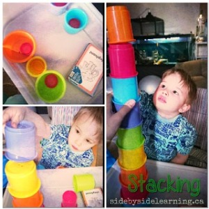Stacking Cups Fine Motor