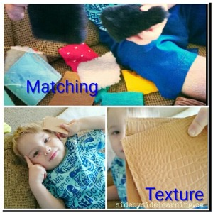 Texture Squares Matching