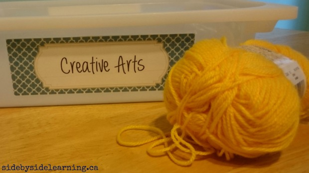 Creative Threading Tot School Fine Motor
