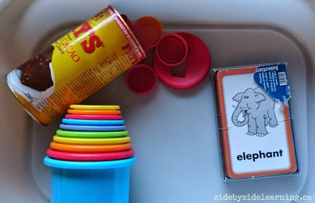 Cup Stacking, Flashcards, Coin Slot