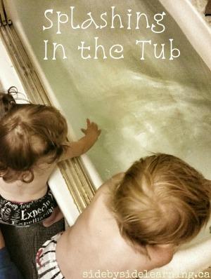 Splashing in the Tub
