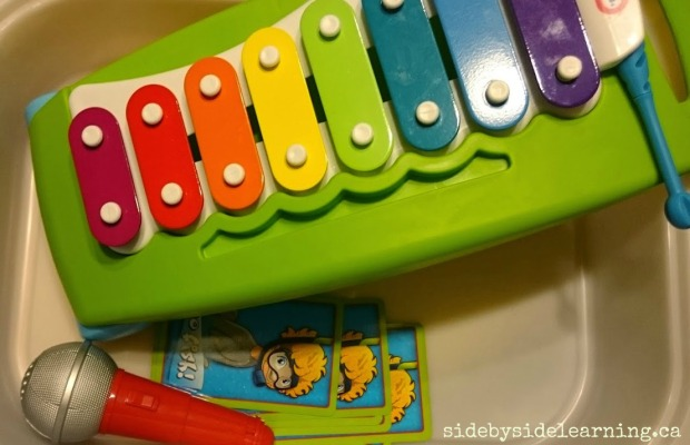 Xylophone, Microphone and Go Fish