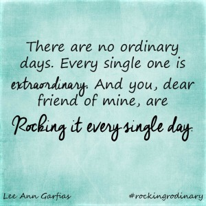 Rocking Ordinary - Rocking it every single day