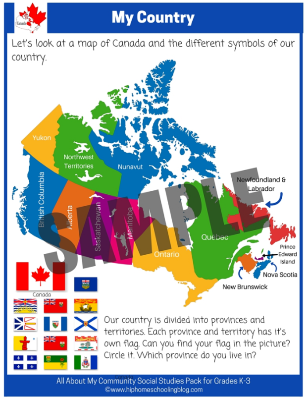 Canada Province and Territory Flags