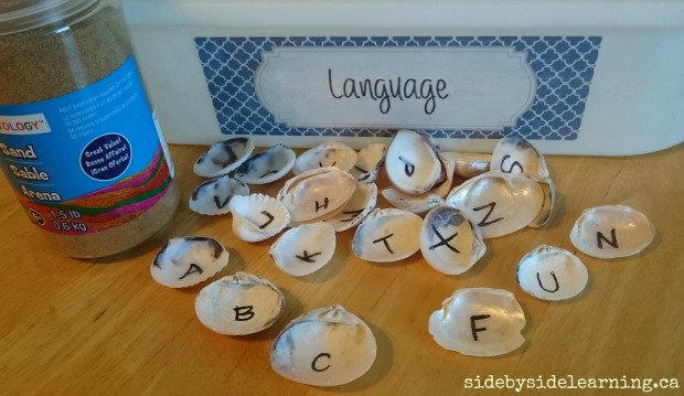 Language - Shells Letters