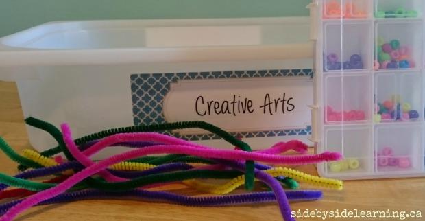 Creative Arts - Snake Beading