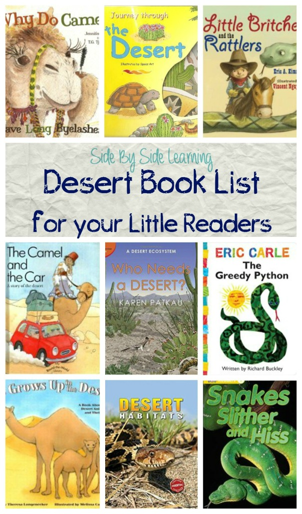 Desert Habitat Week Book List
