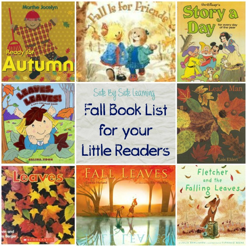 Fall Book List for Babies, Toddlers and PreK