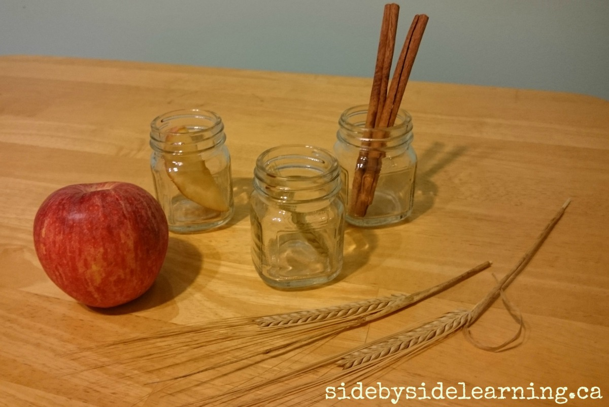 Fall Scents Sensory Activity