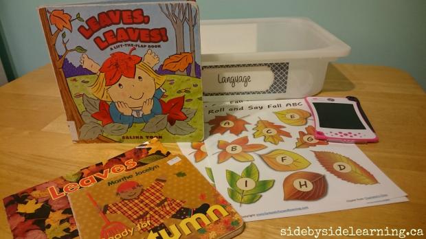 Language - Leaf Letters
