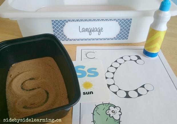 Language - Sand Letters, Do A Dot