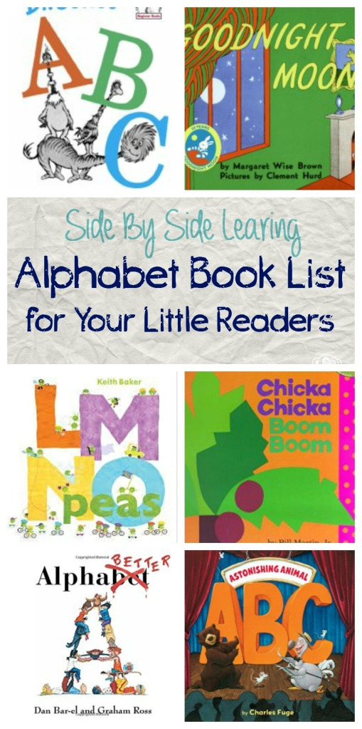 Alphabet Week Book List