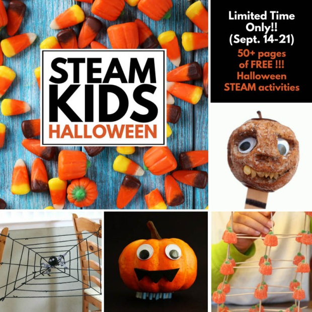 STEAM Kids Halloween Activies