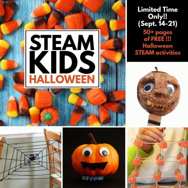 STEAM Kids Halloween Activies
