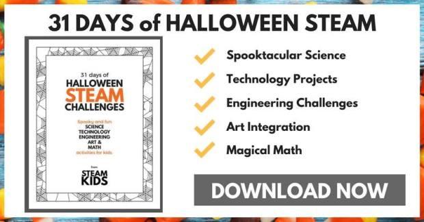 STEAM Kids Halloween 31 Days of Challenges