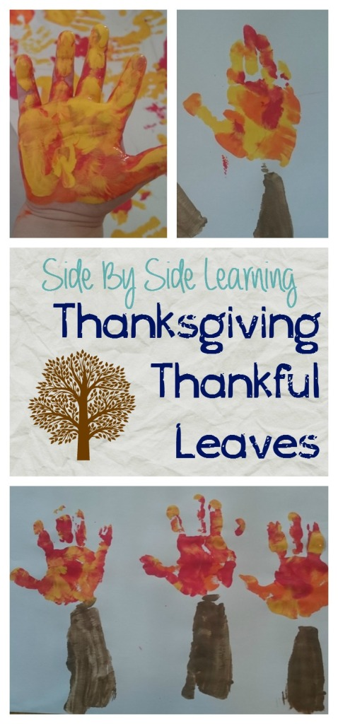 Thanksgiving Thankful Leaves