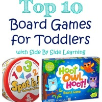 Top 10 Board Games for Toddlers